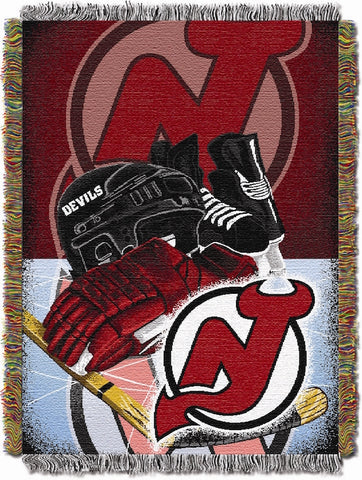 NHL New Jersey Devils HOME ICE ADVANTAGE Tapestry - Bed, Bath, And My Team