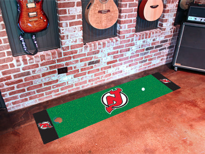 NHL New Jersey Devils Putting Green Mat - Bed, Bath, And My Team