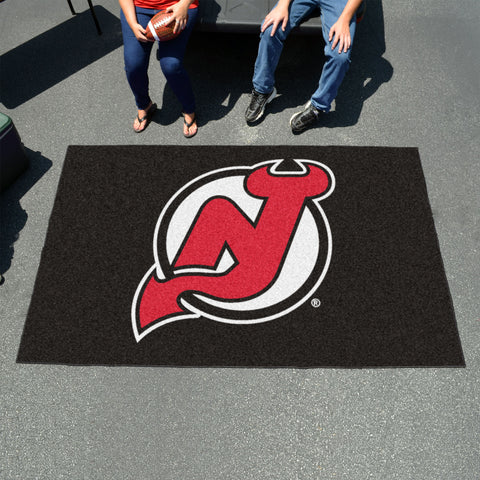 NHL New Jersey Devils UTILI-MAT Area Rug - Bed, Bath, And My Team
