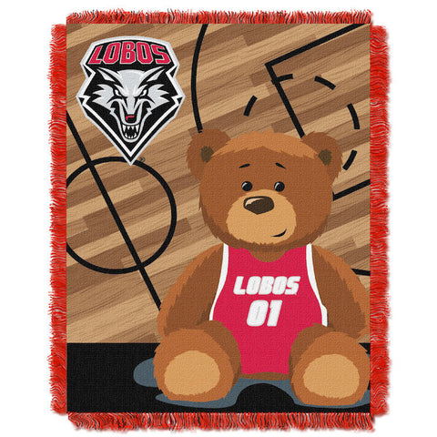 NCAA New Mexico Lobos Baby Blanket - Bed, Bath, And My Team
