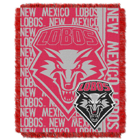 NCAA New Mexico Lobos Woven Decorative Tapestry - Bed, Bath, And My Team