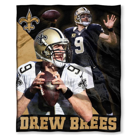 New Orleans Saints Drew Brees Blanket