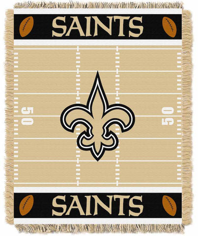 New Orleans Saints Baby Blanket