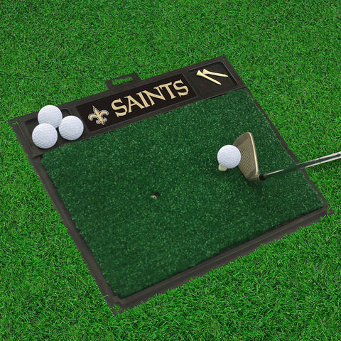 NFL New Orleans Saints Golf Hitting Mat - Bed, Bath, And My Team