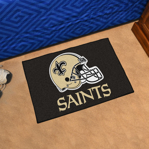 NFL New Orleans Saints STARTER Rug - Bed, Bath, And My Team