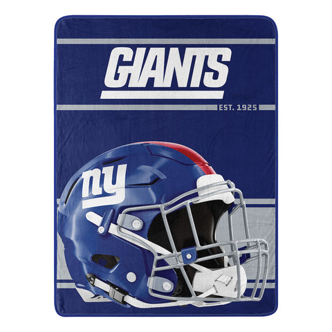 NFL New York Giants Micro Raschel Throw - Bed, Bath, And My Team