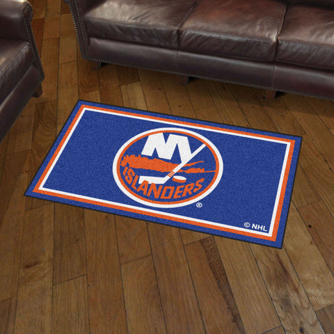 NHL New York Islanders 3 X 5 Ft. Plush Area Rug - Bed, Bath, And My Team