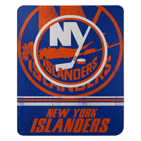 NHL New York Islanders Fleece Throw ~ 50 x 60 - Bed, Bath, And My Team