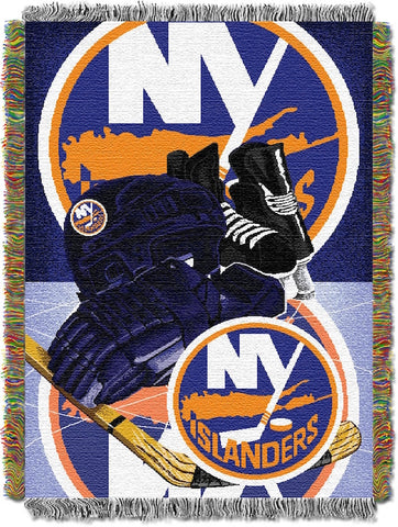 NHL New York Islanders HOME ICE ADVANTAGE Tapestry - Bed, Bath, And My Team