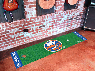 NHL New York Islanders Putting Green Mat - Bed, Bath, And My Team