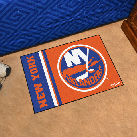 NHL New York Islanders Uniform Inspired STARTER Rug - Bed, Bath, And My Team