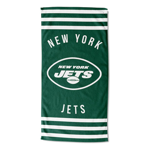 NFL New York Jets Beach Towel - Bed, Bath, And My Team