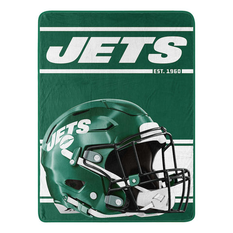 NFL New York Jets Micro Raschel Throw - Bed, Bath, And My Team