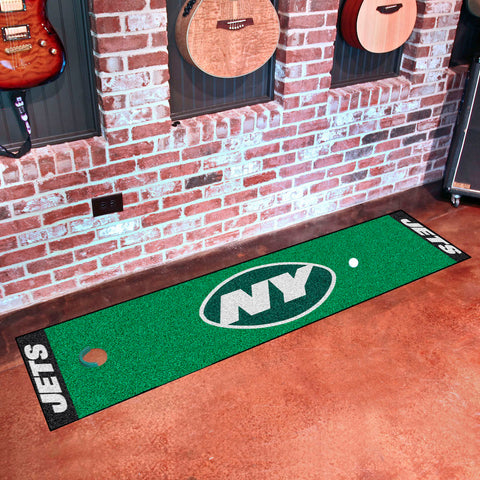 NFL New York Jets Putting Green Mat - Bed, Bath, And My Team
