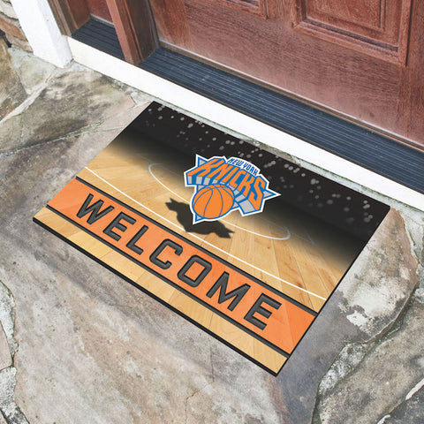 NBA New York Knicks Recycled Rubber CRUMB Doormat - Bed, Bath, And My Team