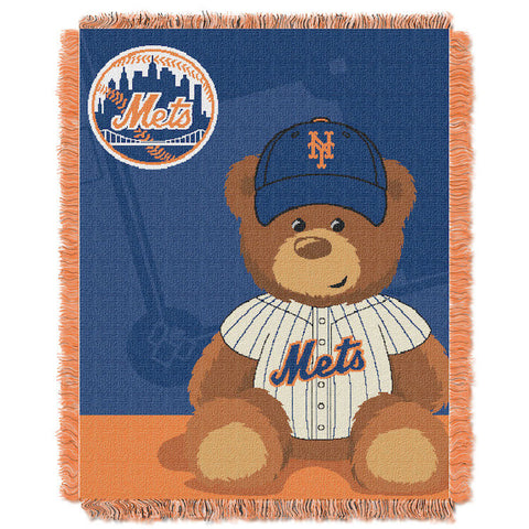 MLB New York Mets Baby Blanket - Bed, Bath, And My Team