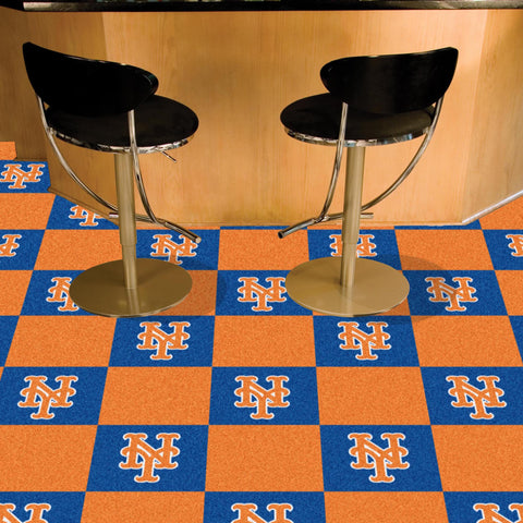 MLB New York Mets Carpet Tiles - Bed, Bath, And My Team