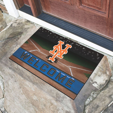 MLB New York Mets Recycled Rubber CRUMB Doormat - Bed, Bath, And My Team