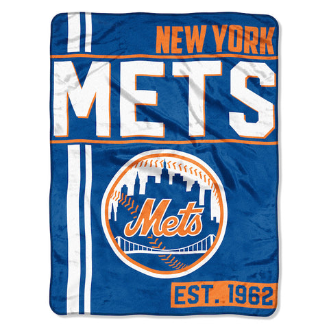 MLB New York Mets Micro Raschel Throw - Bed, Bath, And My Team