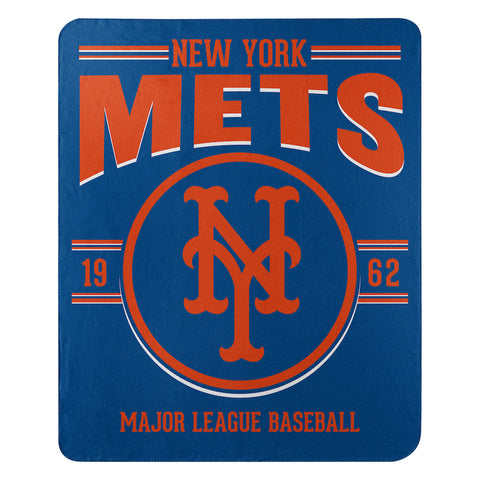 MLB New York Mets Fleece Throw ~ 50 x 60 - Bed, Bath, And My Team