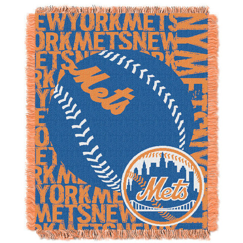 MLB New York Mets Woven Decorative Tapestry - Bed, Bath, And My Team