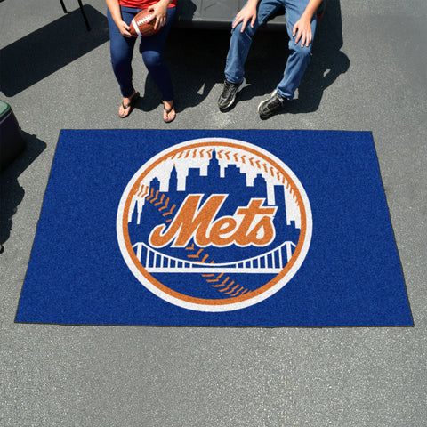 MLB New York Mets UTILI-MAT Area Rug - Bed, Bath, And My Team