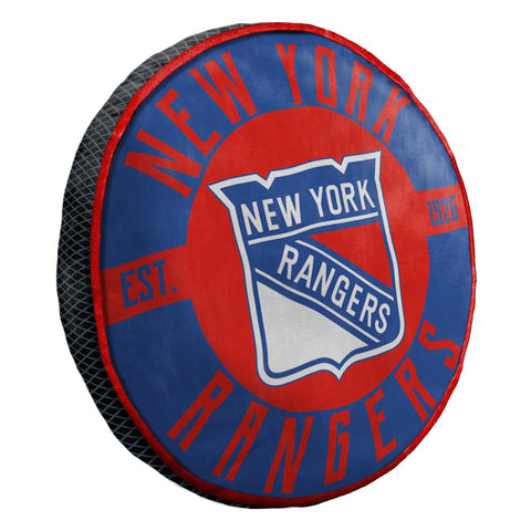 NHL New York Rangers Cloud Travel Pillow - Bed, Bath, And My Team
