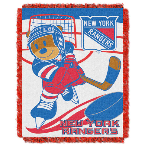 NHL New York Rangers Baby Blanket - Bed, Bath, And My Team