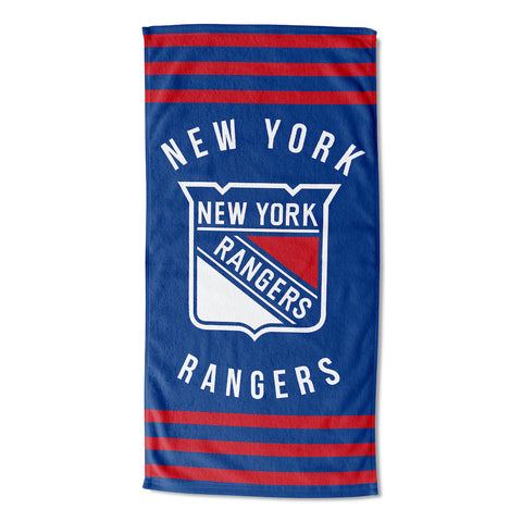 NHL New York Rangers Beach Towel - Bed, Bath, And My Team