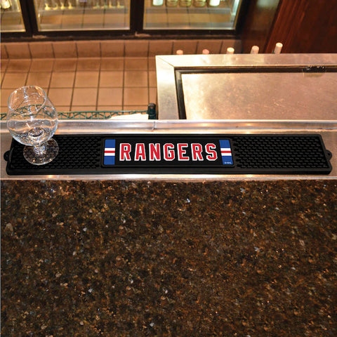 NHL New York Rangers Bar and Drink Mat - Bed, Bath, And My Team