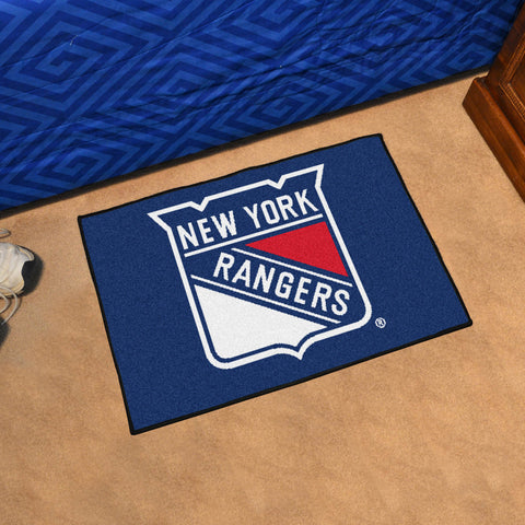 NHL New York Rangers STARTER Rug - Bed, Bath, And My Team