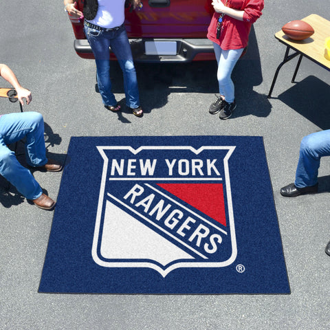 NHL New York Rangers TAILGATER Mat - Bed, Bath, And My Team