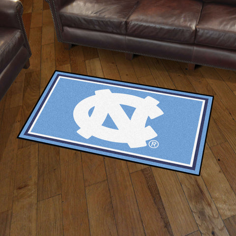 NCAA North Carolina Tar Heels 3 X 5 Ft. Plush Area Rug - Bed, Bath, And My Team
