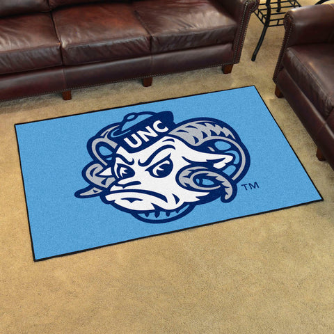 NCAA North Carolina Tar Heels 4 X 6 Ft. Area Rug - Bed, Bath, And My Team