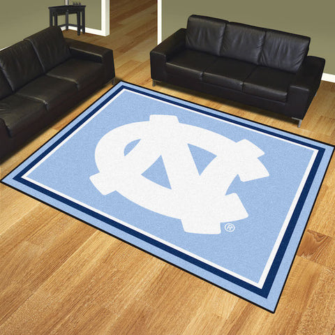 NCAA North Carolina Tar Heels 8 X 10 Ft. Area Rug - Bed, Bath, And My Team