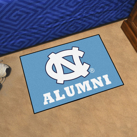 NCAA North Carolina Tar Heels ALUMNI Starter Rug - Bed, Bath, And My Team
