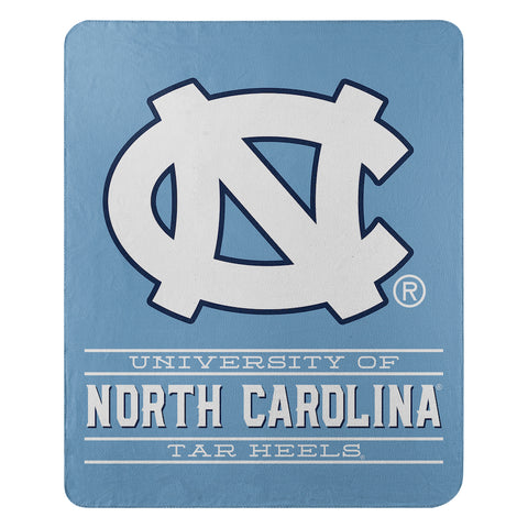 NCAA North Carolina Tar Heels Fleece Throw ~ 50 x 60 - Bed, Bath, And My Team