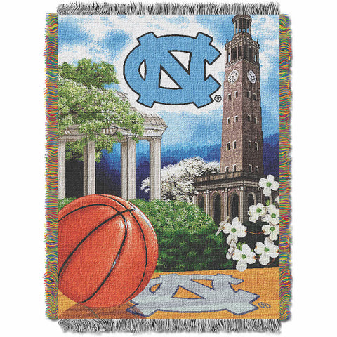 NCAA North Carolina Tar Heels HOME FIELD ADVANTAGE Tapestry - Bed, Bath, And My Team