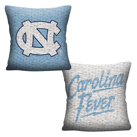 NCAA North Carolina Tar Heels INVERT Throw Pillow - Bed, Bath, And My Team