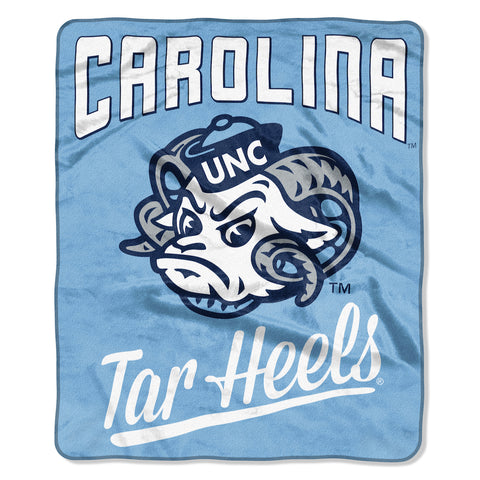 NCAA North Carolina Tar Heels 50 x 60 Alumni Raschel Throw Blanket - Bed, Bath, And My Team