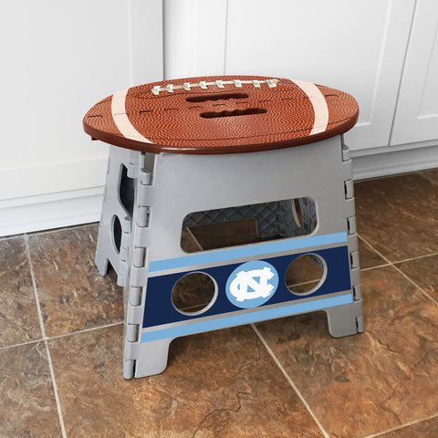 NCAA North Carolina Tar Heels Folding Step Stool - Bed, Bath, And My Team