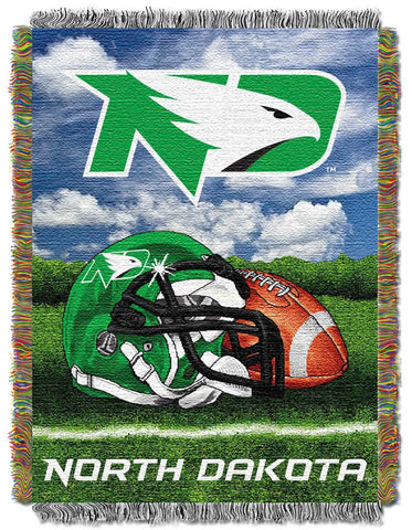NCAA North Dakota Fighting Hawks HOME FIELD ADVANTAGE Tapestry - Bed, Bath, And My Team