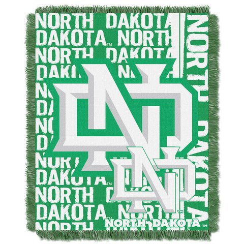 NCAA North Dakota Fighting Hawks Woven Decorative Tapestry - Bed, Bath, And My Team
