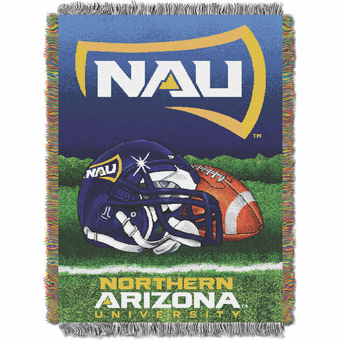 NCAA Northern Arizona Lumberjacks HOME FIELD ADVANTAGE Tapestry - Bed, Bath, And My Team