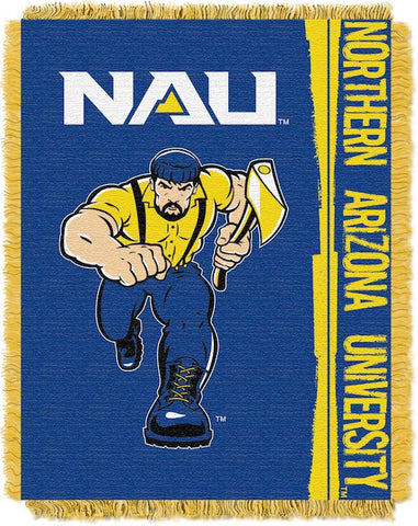 NCAA Northern Arizona Lumberjacks Woven Decorative Tapestry - Bed, Bath, And My Team