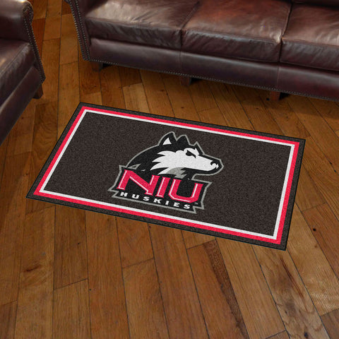 NCAA Northern Illinois Huskies 3 X 5 Ft. Plush Area Rug - Bed, Bath, And My Team