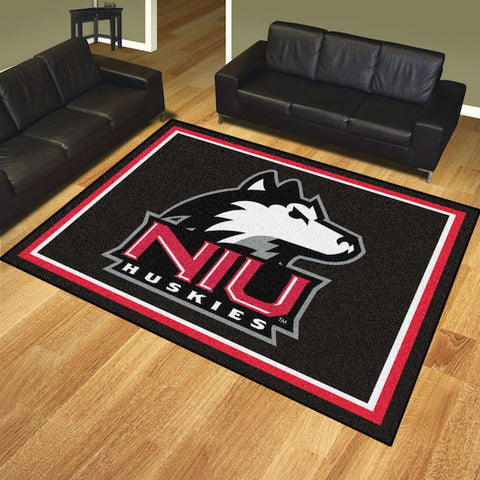 NCAA Northern Illinois Huskies 8 X 10 Ft. Area Rug - Bed, Bath, And My Team