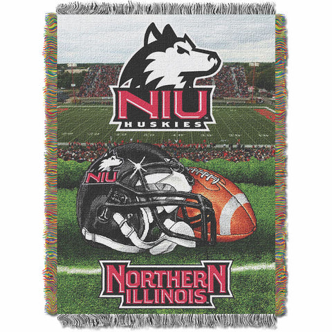 NCAA Northern Illinois Huskies HOME FIELD ADVANTAGE Tapestry - Bed, Bath, And My Team