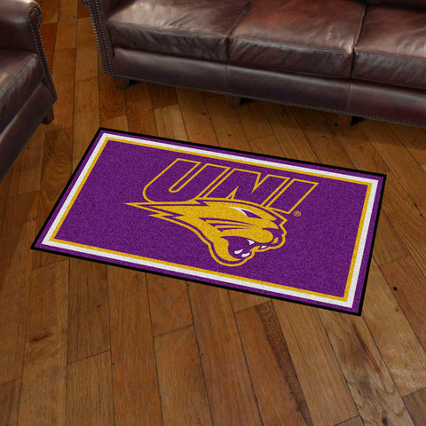 NCAA Northern Iowa Panthers 3 X 5 Ft. Plush Area Rug - Bed, Bath, And My Team
