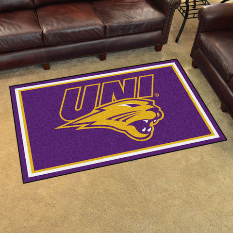 NCAA Northern Iowa Panthers 4 X 6 Ft. Area Rug - Bed, Bath, And My Team